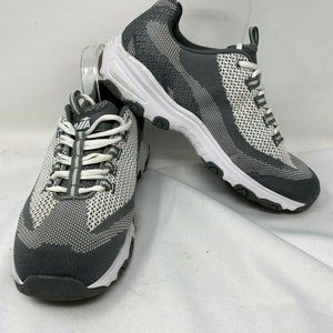 Avia Sport 10W gray & white men's athletic shoes